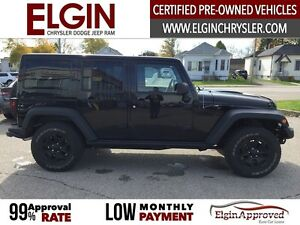 2013 Jeep Wrangler Unlimited Sahara***Leather,Navi,4x4,Low Kms** London Ontario image 4