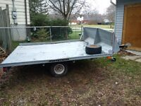Sled Trailer Double Wide