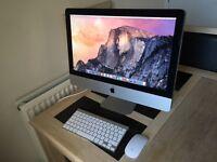 """Apple iMac 21.5"""" Core i5 4Gb Ram 2.5Ghz Hard Drive 500Gb (Mid 2011) A1311"""