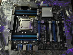 Xeon E5 2630V2, w/ Asus mobo and 54GB of ram