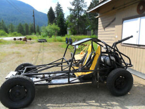 TWO 1958 CADILACS 4dr & OFFROAD RAIL BUGGY