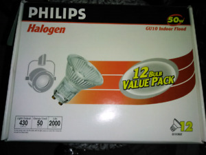 12 bulb GU10 Halogen Value pack