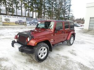 2013 Jeep Wrangler Unlimited 4x4 Sahara Edition