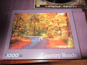 Country Roads - Vert pretty 1000 Piece Fall Puzzle