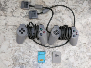 Ps1 controllers memory cards games