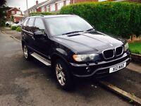 BMW X5 D SPORT AUTO 2003 LONG MOT LOW MILES £3495