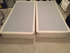 King box spring and frame