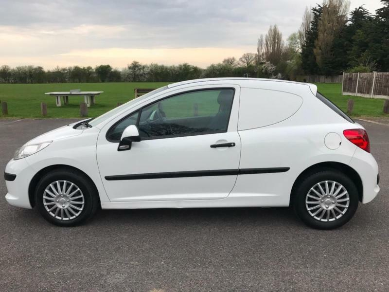 ex bt peugeot 207 van 1.4 hdi 2008 reg with air conditioning | in
