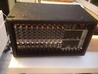 PA system. Eurolive pmp 2000 plus 2x 200 watt speakers.