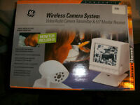 New Wireless Camera with Monitor for sale 45.00-West Island