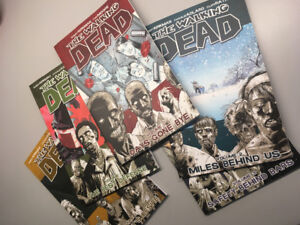 The Walking Dead Graphic Novels 1-5