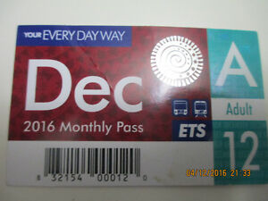 ETS-Adult-December 2016 Monthly Pass