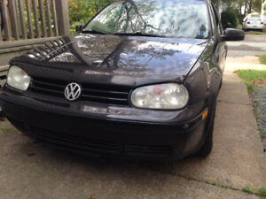 2005 Volkswagen Golf Hatchback WINTER TIRES INCLUDED.