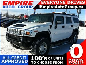 2007 HUMMER  H2 4WD | SPORT UTILITY 4-DR | LEATHER | BOSE | EXTR