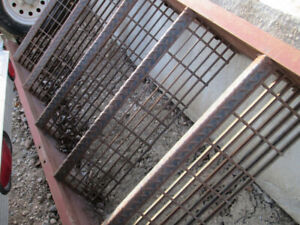 EXTERIOR METAL STAIRS AND RAILING FOR SALE  (SELLING CHEAP!)