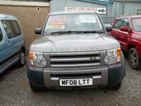 Land Rover Discovery 3 2.7TD V6 2008 GS 1 owner full ONLY 71000 NOW SOLD