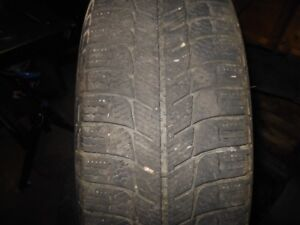 Michelin x-ice tire on rims 195 65 r15