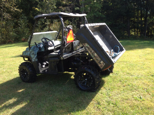 Used 2010 Polaris - 2010 Polaris Ranger 800 XP Browning Le Pursuit C
