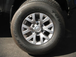 Used Toyota rims and tires