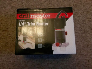 1/4 inch Trim Router (Brand New)