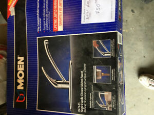 Moen Kitchen taps, new