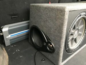 CAR AMPLIFIER/SUBWOOFER