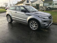 12 RANGE ROVER EVOQUE DYAMICS SD4A AWD 30000 MILES FLRSH