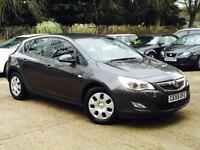 2010 Vauxhall Astra 1.7CDTi Exclusiv DIESEL 5 Door Grey only 58k Miles SUPERB!!!