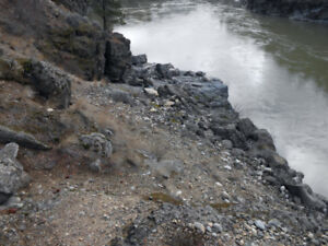 Placer Gold Claim on Fraser River south of Lytton