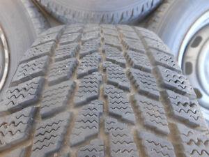 P185/70R14 Toyo Observe Winter Tires on Toyota Camry Rims Regina Regina Area image 3