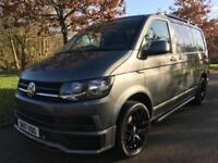 2017 VW T6 TRANSPORTER SPORTLINE STYLING PACK 2.0 T28 TDI BMT 102 BHP AIR CON