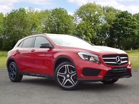 Mercedes-Benz GLA Class 2.1 GLA200 CDI AMG Line 5dr (red) 2015