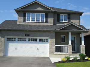 7 year old home in much desired West Brant