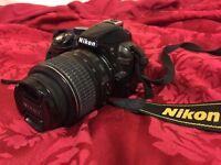 Nikon D3100 with 18-55mm VR Kit Lens