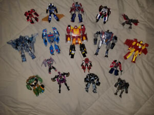NEW TRANSFORMERS LOT 4 SALE - 20 FIGURES