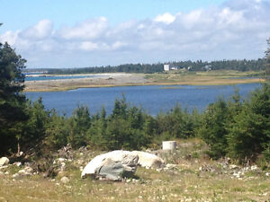 Waterfrontlot with real ocean view and access new septic, well