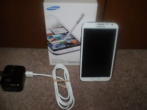 SAMSUNG GALAXY NOTE II Smartphone 64 GB Like New Cond.