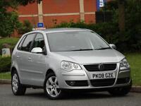 Volkswagen Polo 1.4TDI 2008 5 DOOR MATCH..10 SERVICE STAMPS +UPTO 72 MPG+£30 TAX