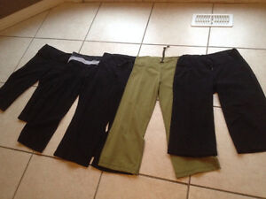 Lululemon crops and pants size 6 and 8 and 10