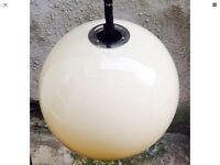 1960s 1970s Mid Century Retro Vintage Ceiling Light Lamp Panton Guzzini Era