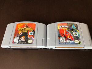 TWO N64 GAMES: XG2 EXTREME G AND DUKE NUKEM 64