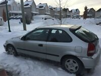 1999 Honda Civic Cx Hatchback