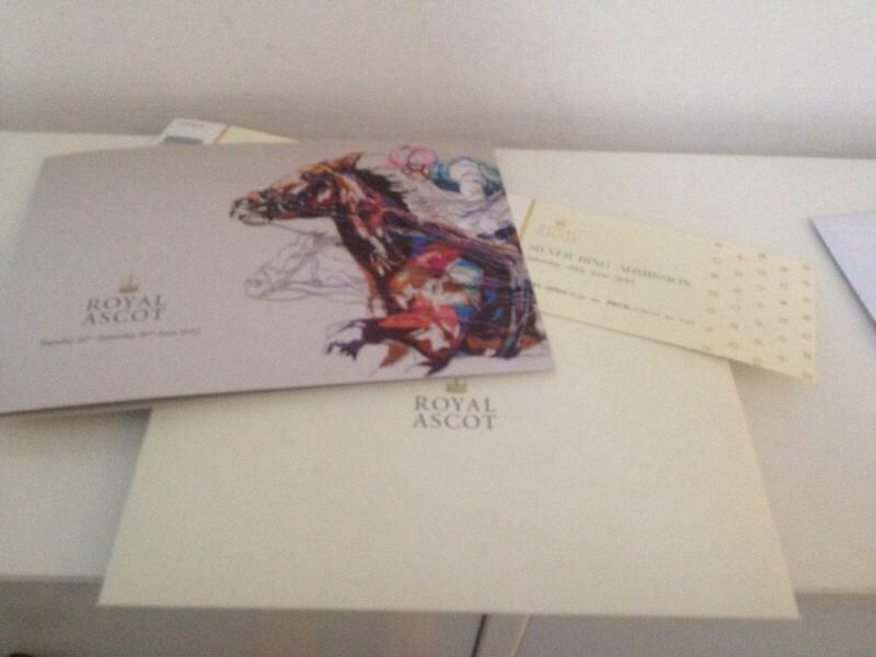 silver ring tickets for royal ascot buy sale and trade ads