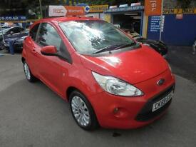 2009 59 FORD KA 1.25 ZETEC IN SUNRISE RED # ONE LADY OWNER #