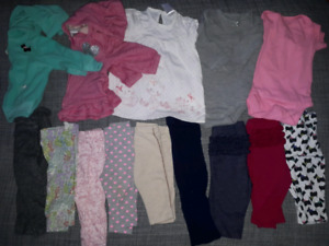 6 month girl clothing lot