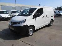 Nissan Nv200 1.5 Dci 89PS Se Van DIESEL MANUAL WHITE (2013)