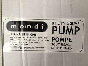 Pompe mondi 1/2 HP