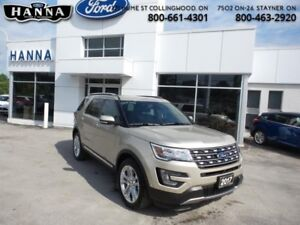 2017 Ford Explorer Limited  *301A*