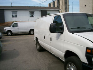 2010 FORD ECONOLINE E150 CARGO VAN FULLY CERTIFIED 166konly