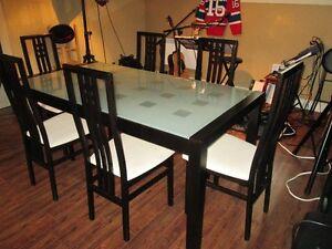 !Set de Cuisine ''Beau Look'' avec 6 chaises